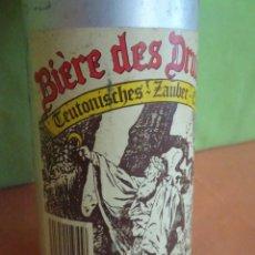 Coleccionismo de cervezas: BOTELLA ALUMINIO DE CERVEZA BIERE DES DRUIDES - ALEMANIA. Lote 225291223