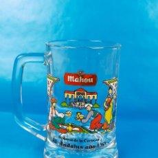 Coleccionismo de cervezas: JARRA MAHOU. Lote 225592835