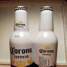 Coleccionismo de cervezas: BOTELLA ALUMINIO DE CERVEZA CORONA IMPORTADA PARA ESPAÑA. Lote 225639808