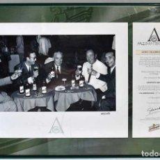 Coleccionismo de cervezas: PEDRO CHICOTE. FOTOGRAFÍA TIRADA LIMITADA COLECCIÓN ARCHIVO HISTÓRICO SAN MIGUEL. Lote 226005826