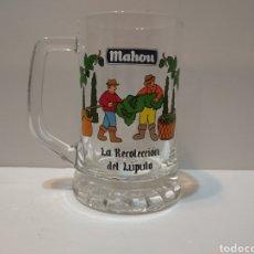 Coleccionismo de cervezas: COLECCIÓN JARRA MAHOU - LA RECOLECCIÓN DE LÚPULO -. Lote 226047170