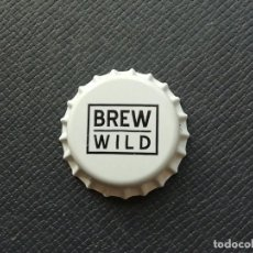 Coleccionismo de cervezas: CHAPA TAPÓN CORONA NUEVO DE LA CERVEZA ARTESANA ESPAÑOLA BREW WILD. VER DESCRIPCIÓN.. Lote 226653395