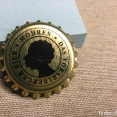 Collectionnisme de bières: CHAPA CERCEVEZA - ( SIN PONER) MOHREN DAS VORARLBERGER BIER- DORADA REF 214. Lote 226930790