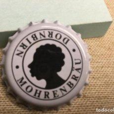 Collectionnisme de bières: CHAPA CERCEVEZA - ( SIN PONER) MOHRENBRAU DORNBIRN - BLANCA REF 212. Lote 226930860