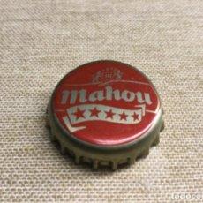 Coleccionismo de cervezas: CHAPA CERVEZA - RECUPERADA DE BOTELLA - VER FOTOS. MAHOU. Lote 226981455