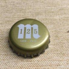 Coleccionismo de cervezas: CHAPA CERVEZA - RECUPERADA DE BOTELLA - VER FOTOS. MAHOU. Lote 226981545
