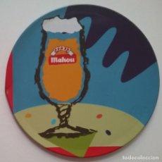 Coleccionismo de cervezas: POSAVASOS CERVEZA MAHOU COPA CORCHO LATA. Lote 226983620