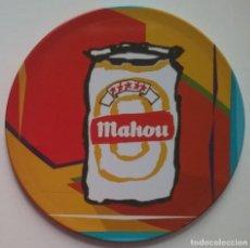 Coleccionismo de cervezas: POSAVASOS CERVEZA MAHOU CORCHO LATA. Lote 226983805