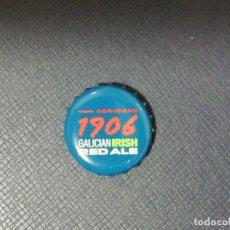 Coleccionismo de cervezas: CHAPA TAPÓN CORONA DE LA CERVEZA ESPAÑOLA ESTRELLA GALICIA IRISH RED ALE. VER DESCRIPCIÓN.. Lote 227083255