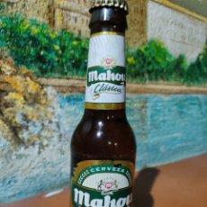 Coleccionismo de cervezas: BOTELLA CERVEZA MAHOU CLÁSICA. 20 CL. ETIQUETA 2009. SIN USAR. Lote 227615320