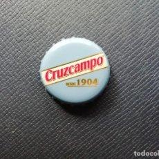 Coleccionismo de cervezas: CHAPA TAPÓN CORONA DE LA CERVEZA ESPAÑOLA CRUZCAMPO SIN. VER DESCRIPCIÓN.. Lote 228441695
