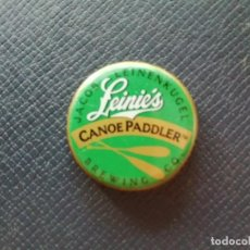 Coleccionismo de cervezas: CHAPA USA, TAPÓN CORONA DE LA CERVEZA LEINIE'S CANOE PADDLER. VER DESCRIPCIÓN.. Lote 246855470