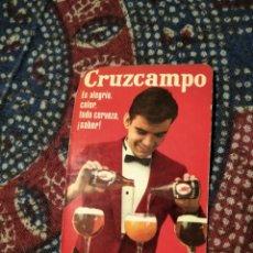 Coleccionismo de cervezas: CALENDARIO CRUZCAMPO 1968. Lote 228523915