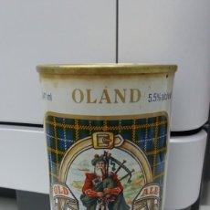 Coleccionismo de cervezas: LATA DE CERVEZA AÑO SCOTIA AÑO 1979 OLAND OLD ALE BEER ACERO RECTO CAN CANADA ACERO RECTO. Lote 229649125