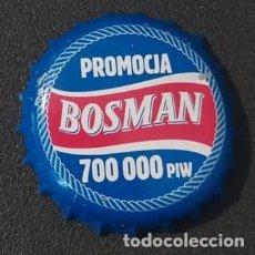 Collectionnisme de bières: CHAPA TAPÓN CORONA DE LA CERVEZA POLACA BOSMAN PROMOCJA 700 000 PIW. VER DESCRIPCIÓN.. Lote 230396030