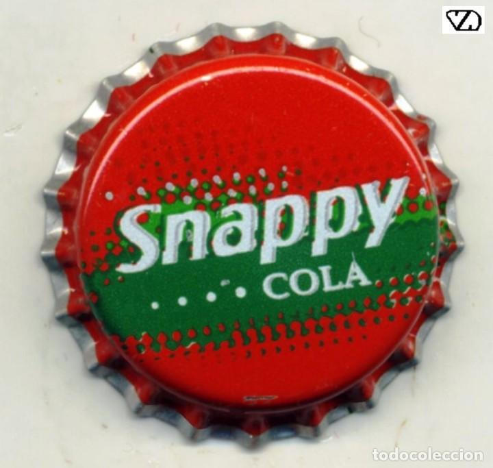 CHAPA SODA SNAPPY COLA - PORTUGAL XAPA KRONKORKEN TAPPI BOTTLE CAP CAPSULE (Coleccionismo - Botellas y Bebidas - Cerveza )