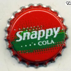 Coleccionismo de cervezas: CHAPA SODA SNAPPY COLA - PORTUGAL XAPA KRONKORKEN TAPPI BOTTLE CAP CAPSULE. Lote 231966930