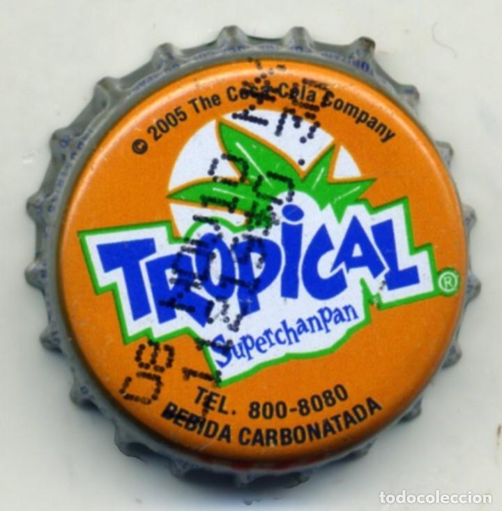 CHAPA SODA TROPICAL - EL SALVADOR XAPA KRONKORKEN TAPPI BOTTLE CAP CAPSULE (Coleccionismo - Botellas y Bebidas - Cerveza )