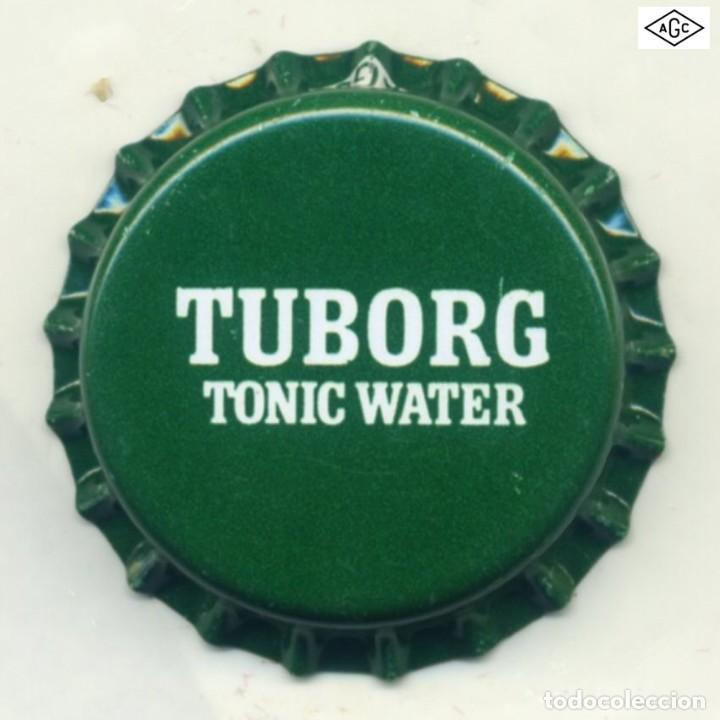 CHAPA SODA TUBORG - GRECIA XAPA KRONKORKEN TAPPI BOTTLE CAP CAPSULE (Coleccionismo - Botellas y Bebidas - Cerveza )