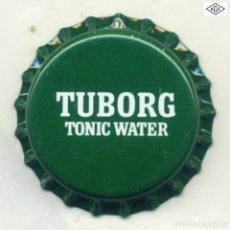 Coleccionismo de cervezas: CHAPA SODA TUBORG - GRECIA XAPA KRONKORKEN TAPPI BOTTLE CAP CAPSULE. Lote 231969500