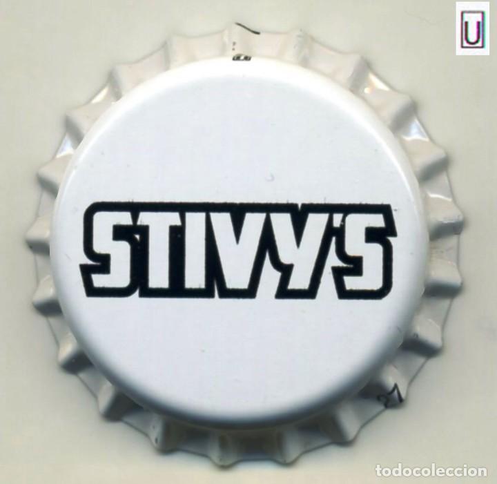 CHAPA SIDRA STIVY'S - REINO UNIDO XAPA KRONKORKEN TAPPI BOTTLE CAP CAPSULE (Coleccionismo - Botellas y Bebidas - Cerveza )