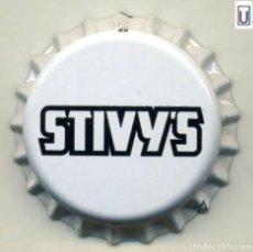Coleccionismo de cervezas: CHAPA SIDRA STIVY'S - REINO UNIDO XAPA KRONKORKEN TAPPI BOTTLE CAP CAPSULE. Lote 231972010