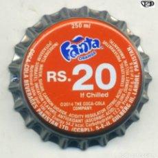 Coleccionismo de cervezas: CHAPA FANTA - PAKISTAN XAPA KRONKORKEN TAPPI BOTTLE CAP CAPSULE. Lote 231972375