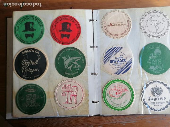Coleccionismo de cervezas: COLECCION POSAVASOS CERVEZA Y OTROS. DOS ÁLBUMES. VER FOTOS Y DETALLES - Foto 17 - 232677996