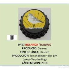 Collectionnisme de bières: TAPON CORONA CHAPA BOTTLE CAP KRONKORKEN TAPPI CAPSULE - CERVEZA TERSCHELLINGER (HOLANDA). Lote 235056355