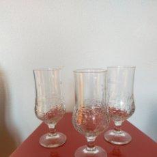 Coleccionismo de cervezas: 3 VASOS CERVEZA ALHAMBRA. Lote 235243960
