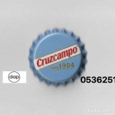 Coleccionismo de cervezas: TAPON CORONA CHAPA BEER BOTTLE CAP KRONKORKEN TAPPI CAPSULE CERVEZA CRUZCAMPO SIN. Lote 235258310