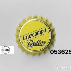 Coleccionismo de cervezas: TAPON CORONA CHAPA BEER BOTTLE CAP KRONKORKEN TAPPI CAPSULE CERVEZA CRUZCAMPO RADLER. Lote 235258690