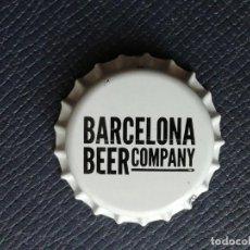 Coleccionismo de cervezas: CHAPA TAPÓN CORONA NUEVO DE LA CERVEZA ARTESANA ESPAÑOLA BARCELONA BEER COMPANY. VER DESCRIPCIÓN.. Lote 236817135