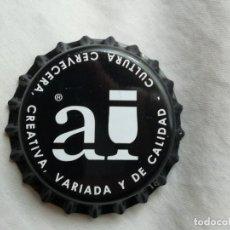 Coleccionismo de cervezas: CHAPA TAPÓN CORONA NUEVO DE LA CERVEZA ARTESANA ESPAÑOLA ARRIACA. VER DESCRIPCIÓN.. Lote 236817330