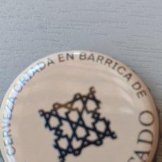 Coleccionismo de cervezas: TAPÓN CORONA CHAPA CERVEZA ALHAMBRA PALO CORTADO. Lote 238590500