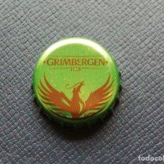 Collezionismo di birre: CHAPA TAPÓN CORONA DE LA CERVEZA DE BÉLGICA GRIMBERGEN IPA. VER DESCRIPCIÓN.. Lote 238671865