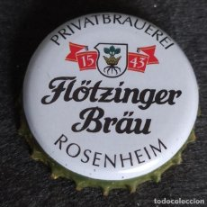 Collectionnisme de bières: CHAPA TAPÓN CORONA BOTTLE CAP DE LA CERVEZA ALEMANA FLÖTZINGER BRÄU ROSENHEIM. VER DESCRIPCIÓN.. Lote 239815200