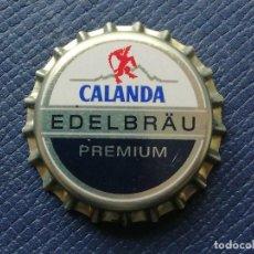 Collectionnisme de bières: CHAPA TAPÓN CORONA NUEVO DE LA CERVEZA SUIZA CALANDA EDELBRÄU PREMIUM. VER DESCRIPCIÓN.. Lote 241130860