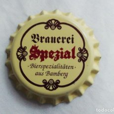 Collectionnisme de bières: CHAPA TAPÓN CORONA NUEVO DE LA CERVEZA ALEMANA BRAUEREI SPEZIAL. VER DESCRIPCIÓN.. Lote 241131655