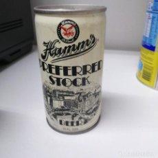 Coleccionismo de cervezas: LATA CERVEZA BEER ESTADOS UNIDOS USA CAN HAMMS PAUL PREFERRED STOCK. Lote 241320135