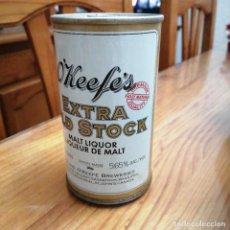 Coleccionismo de cervezas: LATA CERVEZA CANADA BEER O'KEEFES EXTRA OLD STOCK. Lote 241535485