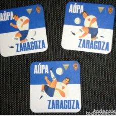Coleccionismo de cervezas: POSAVASOS REAL ZARAGOZA NOVEDAD. Lote 270946328