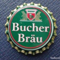 Collectionnisme de bières: CHAPA TAPÓN CORONA NUEVO DE LA CERVEZA ALEMANA BUCHER BRÄU. VER DESCRIPCIÓN.. Lote 242394625