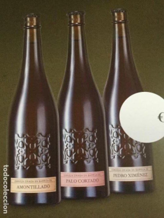 Coleccionismo de cervezas: ALHAMBRA NUMERADAS - CÁRTEL PÓSTER DE PAPEL - CERVEZA GRANADA - Foto 2 - 243000245
