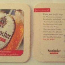 Coleccionismo de cervezas: POSAVASOS DE CERVEZA- KROMBACHER. Lote 245359925