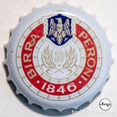 Coleccionismo de cervezas: TAPÓN CORONA - CHAPA - CERVEZA - ITALIA (ROMA) - PERONI. Lote 245903785