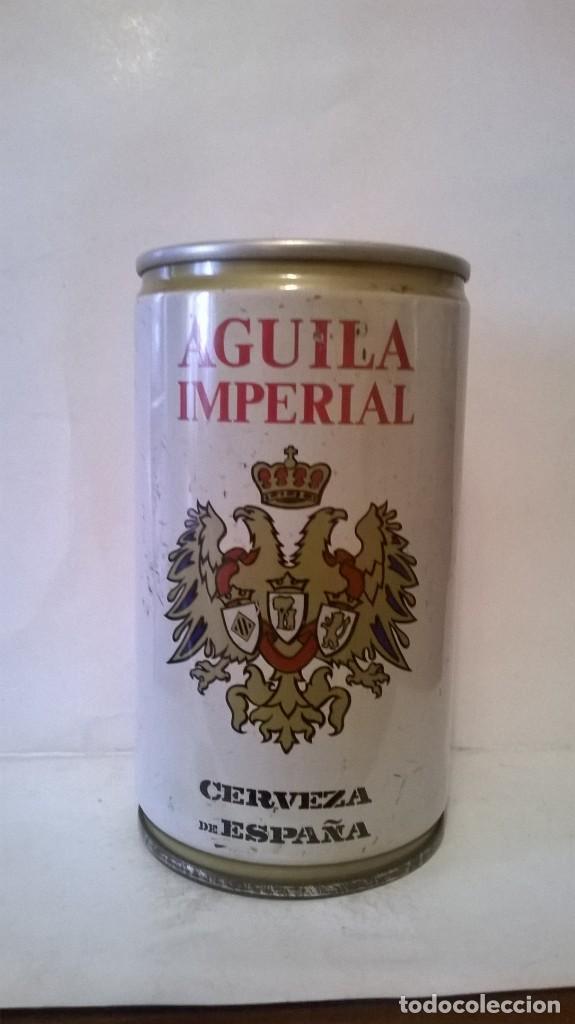 LATA CERVEZA AGUILA IMPERIAL (Coleccionismo - Botellas y Bebidas - Cerveza )