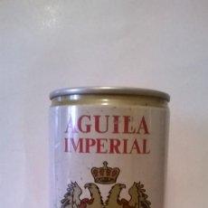 Coleccionismo de cervezas: LATA CERVEZA AGUILA IMPERIAL. Lote 245922525