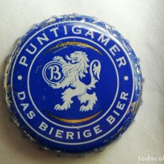 Coleccionismo de cervezas: CHAPA TAPÓN CORONA DE LA CERVEZA AUSTRÍACA PUNTIGAMER DAS BIERIGE BIER. VER DESCRIPCIÓN.. Lote 246167635