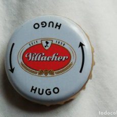 Coleccionismo de cervezas: CHAPA TAPÓN CORONA DE LA CERVEZA AUSTRÍACA VILLACHER HUGO. VER DESCRIPCIÓN.. Lote 246167860